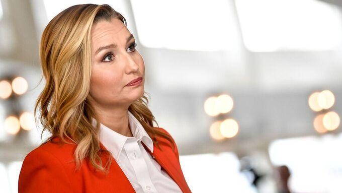 Kristdemokraternas partiledare Ebba Busch.