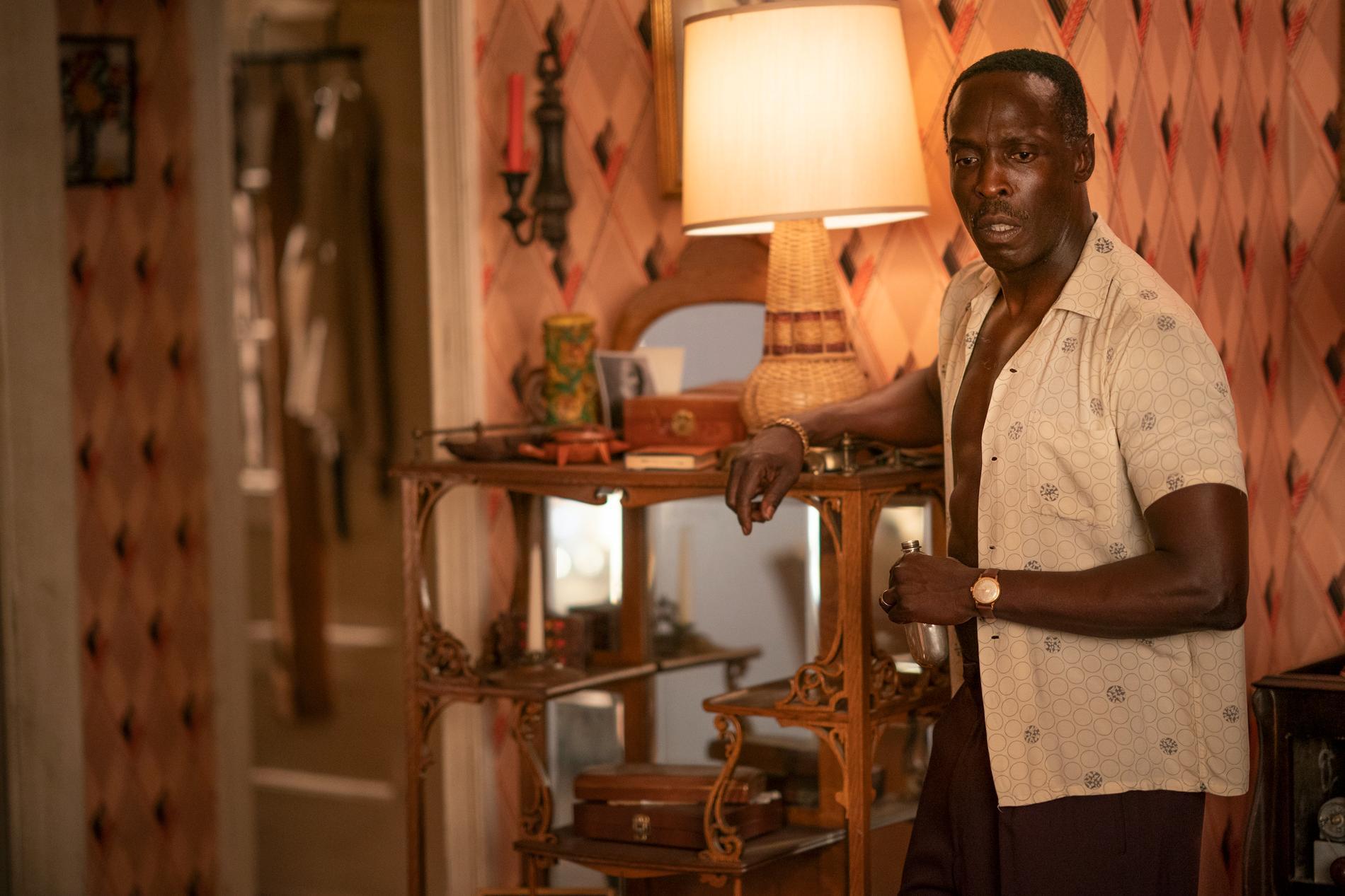 """Michael K. Williams i """"Lovecraft Country"""" som han är nominerad till en Emmy för. Galan går av stapeln senare i september."""