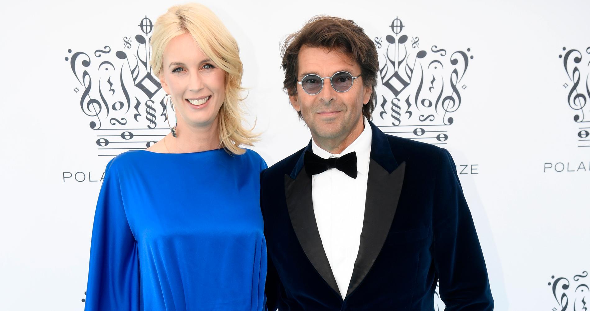 Jenny Strömstedt med sin nuvarande man, Niklas Strömstedt.