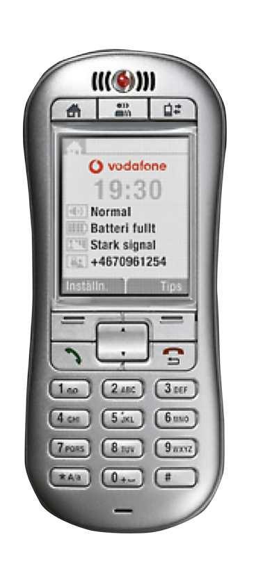 SNACKA DUGER Vodafone satsar på snack- och sms-mobiler.