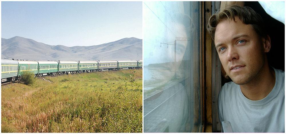 Dan Olofsson har åkt tåg i över 70 länder och gör minst en tågluff varje år.