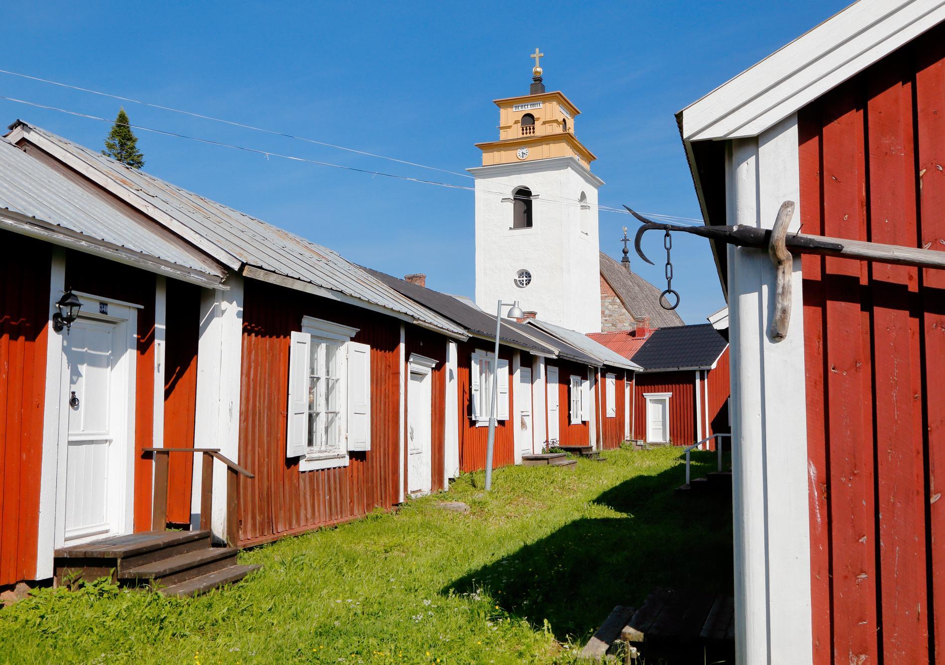 Gammelstaden kallas ofta för Luleås äldsta del.