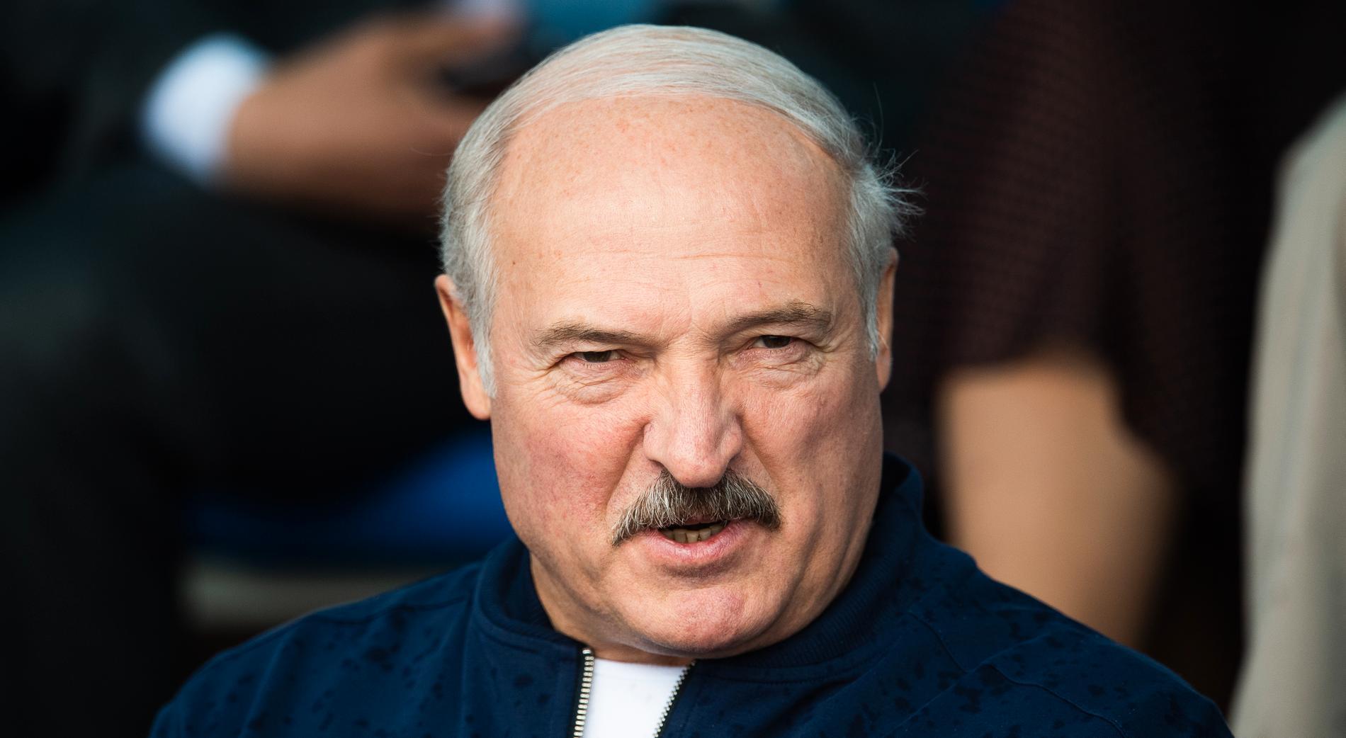 Aleksandr Lukasjenko.