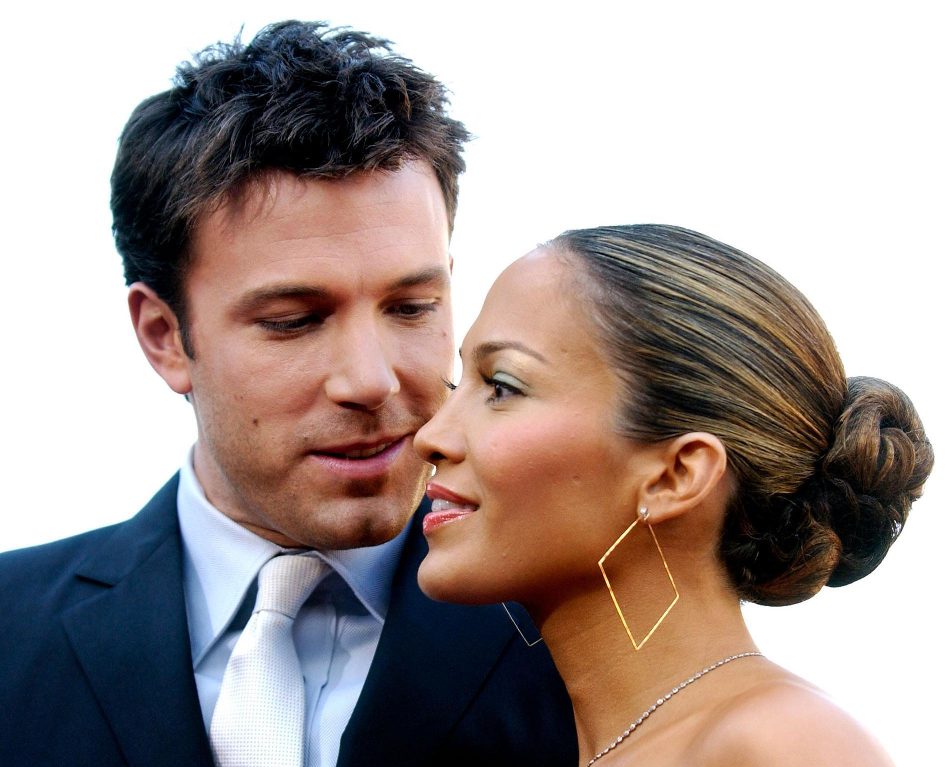 Ben Affleck och Jennifer Lopez på den gamla goda tiden.