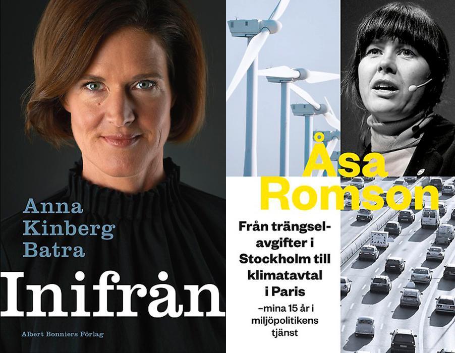 """Partiledarlitteraturen är en möjlighet för politikern att ge sitt perspektiv på sin karriär. Och det är två mycket kompetenta politiker som framträder i både """"Inifrån"""" och """"Från trängselavgifter i Stockholm till klimatavtal i Paris"""", skriver Johannes Klenell."""