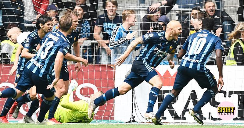 Djurgården krossade Hammarby – vände 0–1 till 4–1