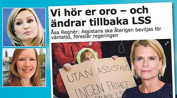 Regeringen försöker rädda ansiktet istället för att rädda människor, skriver Ebba Busch Thor och Emma Henriksson.