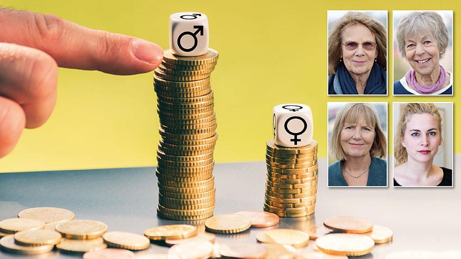 Det enda sättet för lönerna i kvinnodominerade yrken att komma i nivå med andra jämförbara yrken är att de tillåts öka mer än märket, skriver Lönelotsarna och Sveriges kvinnolobby.