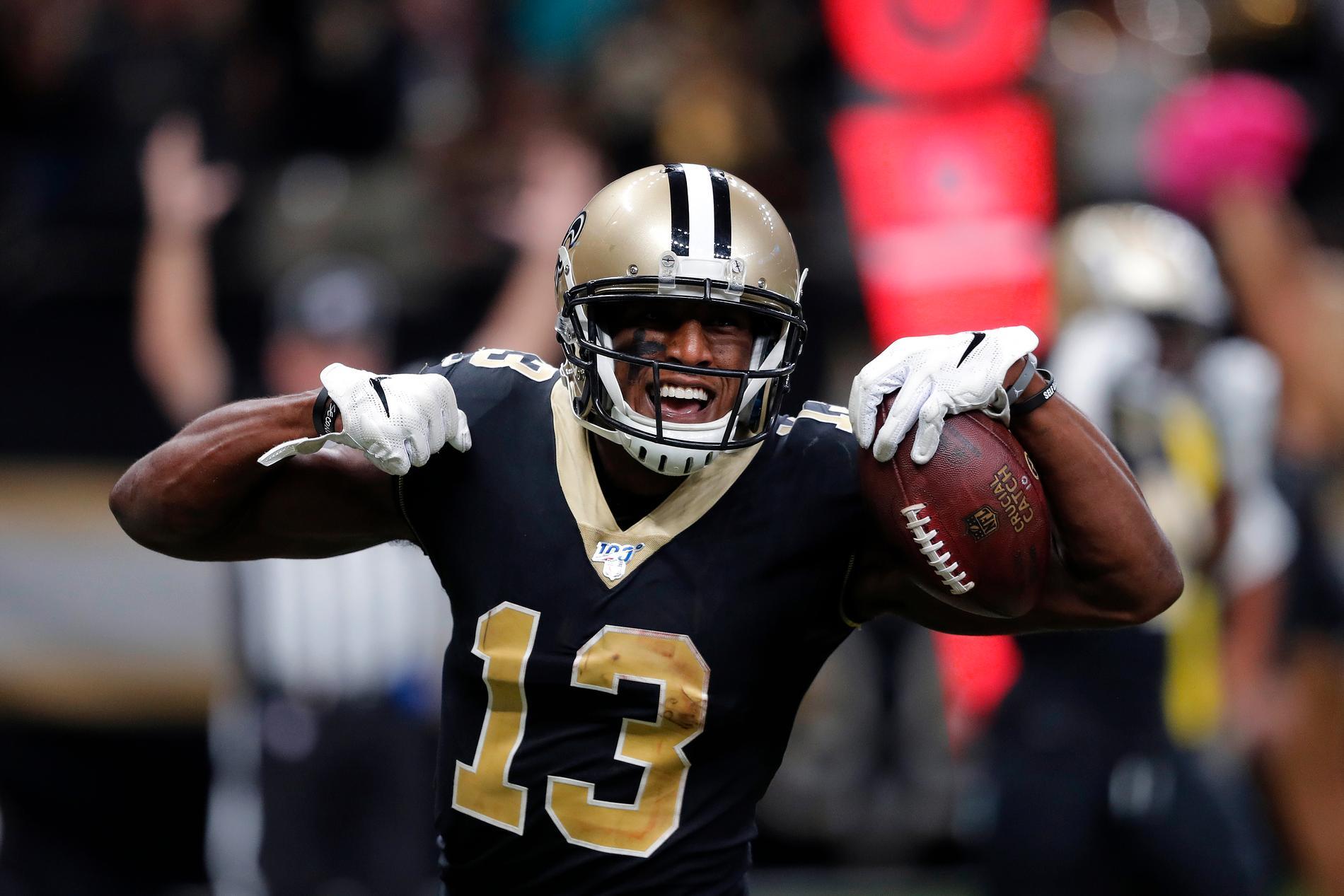 Michael Thomas, New Orleans Saints wide receiever.