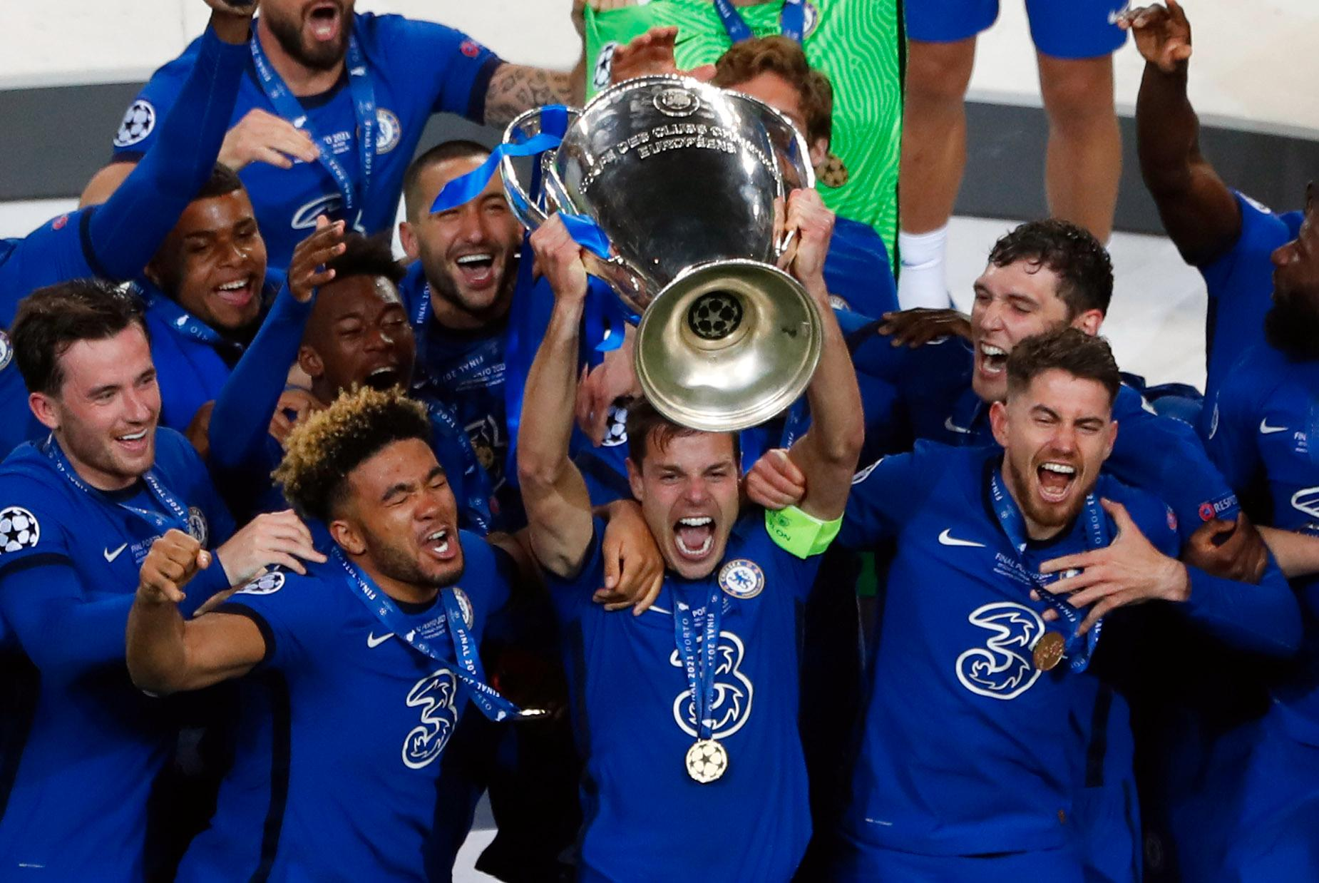 Chelsea är regerande mästare i Champions League. Den nya säsongen börjar 14 september.