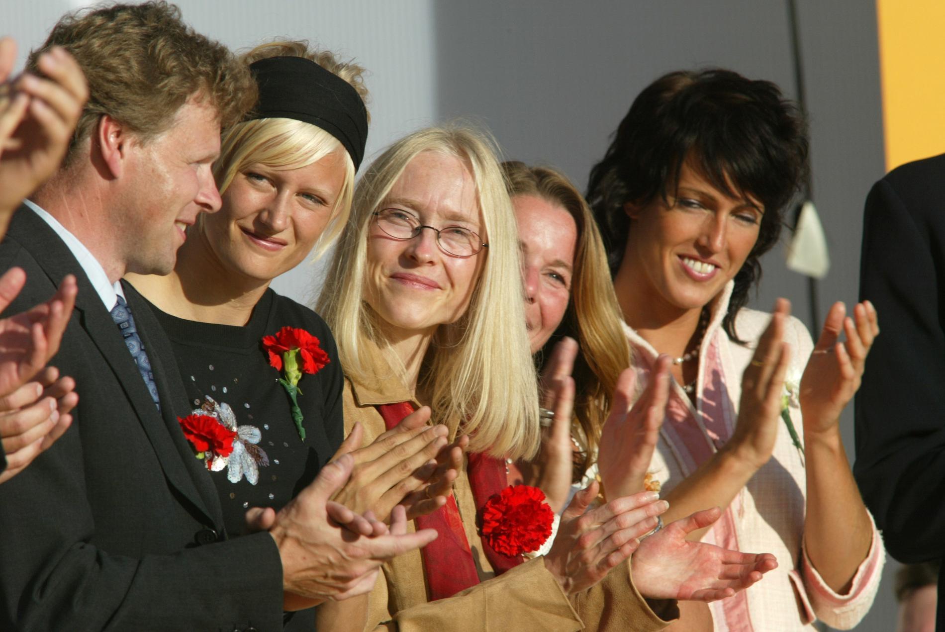 Sara Wedlund på Victoriadagen 2003.