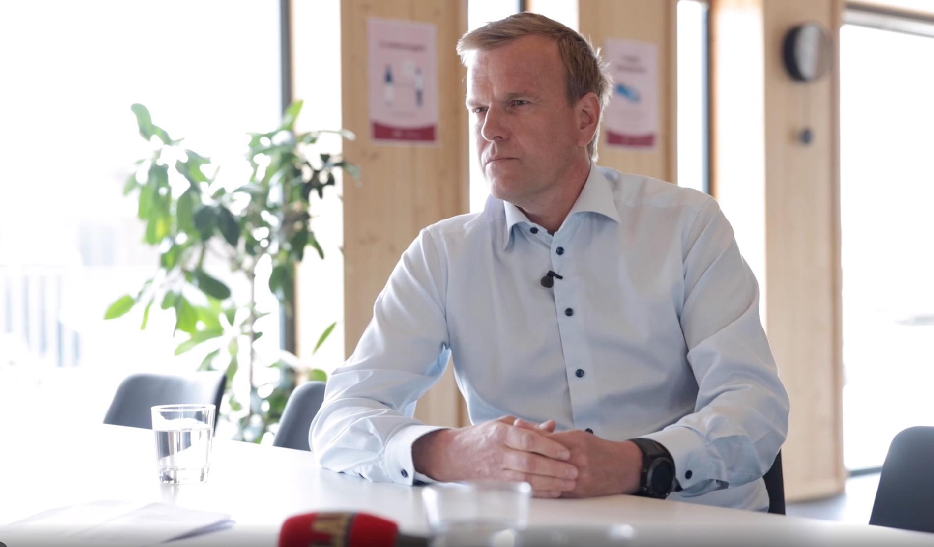 Kronfågels vd Mats Hedlund.