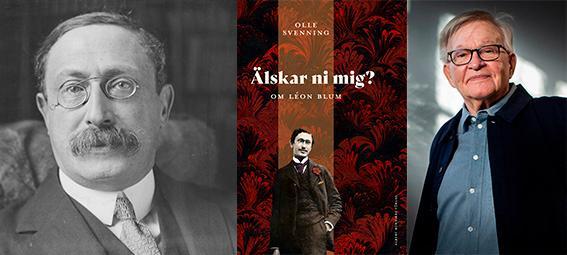 Olle Svenning är aktuell med en biografi över den franske politikern Léon Blum.