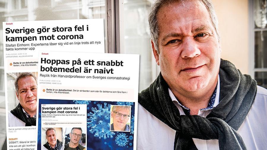 Martin Kulldorff bortser ifrån att mycket har skett inom det biomedicinska området sedan den första behandlingen för aids. Min gissning är att det bara handlar om månader innan vi har medicin mot Covid-19, skriver Stefan Einhorn.