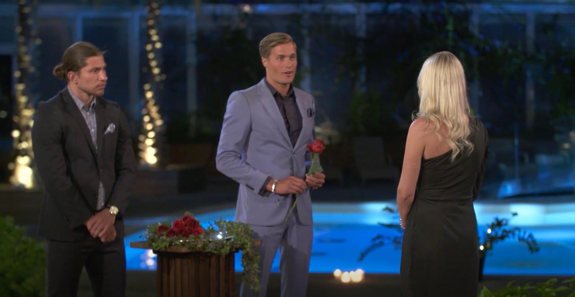 """Josefin Hamrin tackade nej till """"Bachelor""""-Simons ros."""