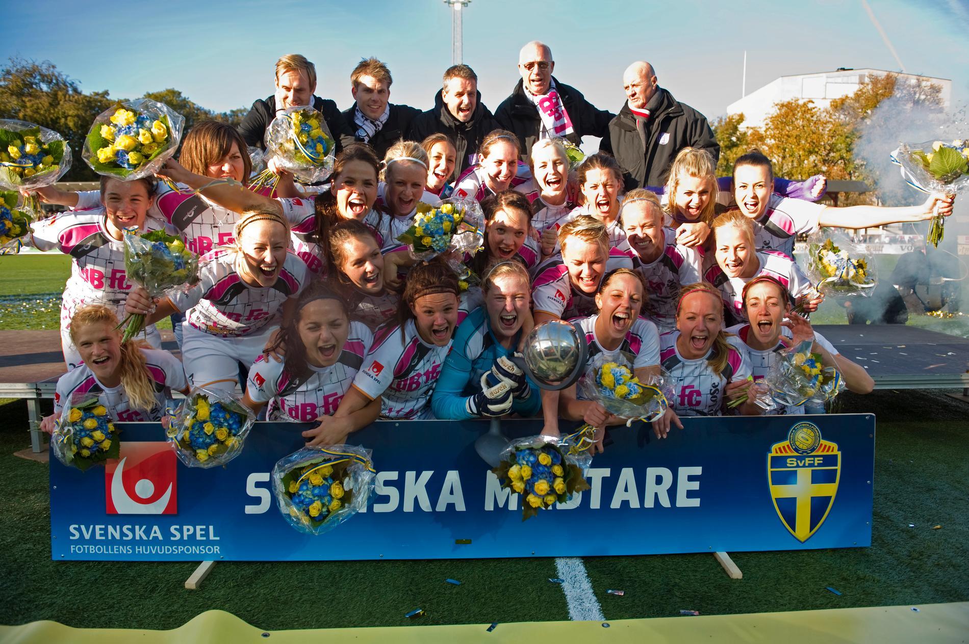 LDB Malmö – mästare 2011.