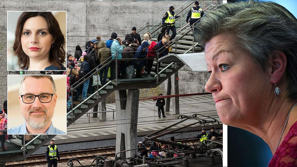 Sverige har mycket av värde att exportera till andra länder i Europa, men vårt lands migrations- och integrationspolitik är inte en sådan sak. Om Ylva Johanssons egen solidaritet i första hand hade legat hos Sverige och svenska medborgare, hade hon kanske insett det, skriver Paula Bieler och Jonas Andersson (SD).