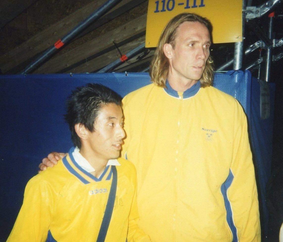 Shin-ichi Murata och Staffan Olsson.