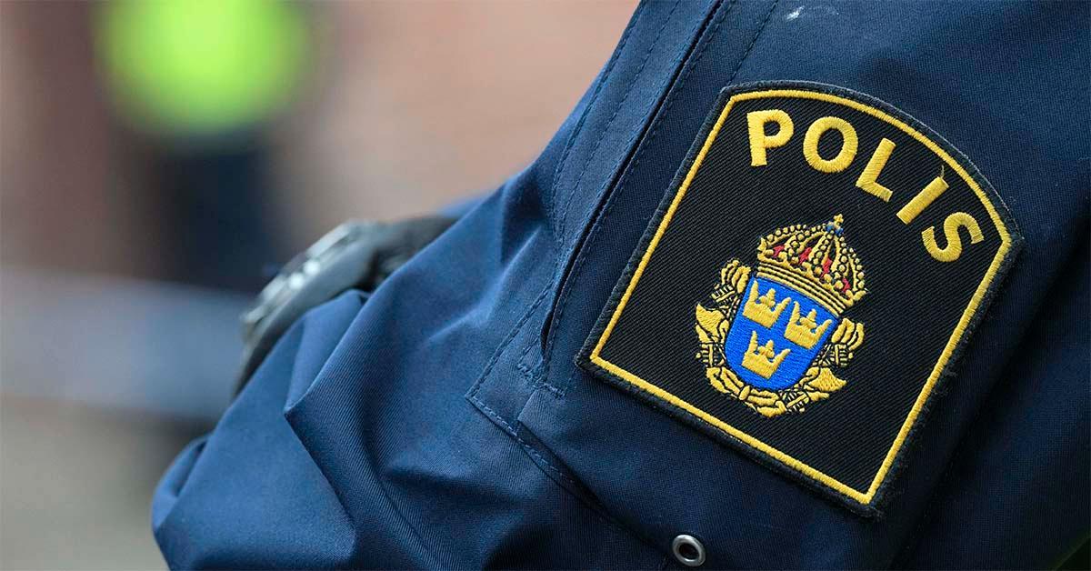 Genrebild på polis.