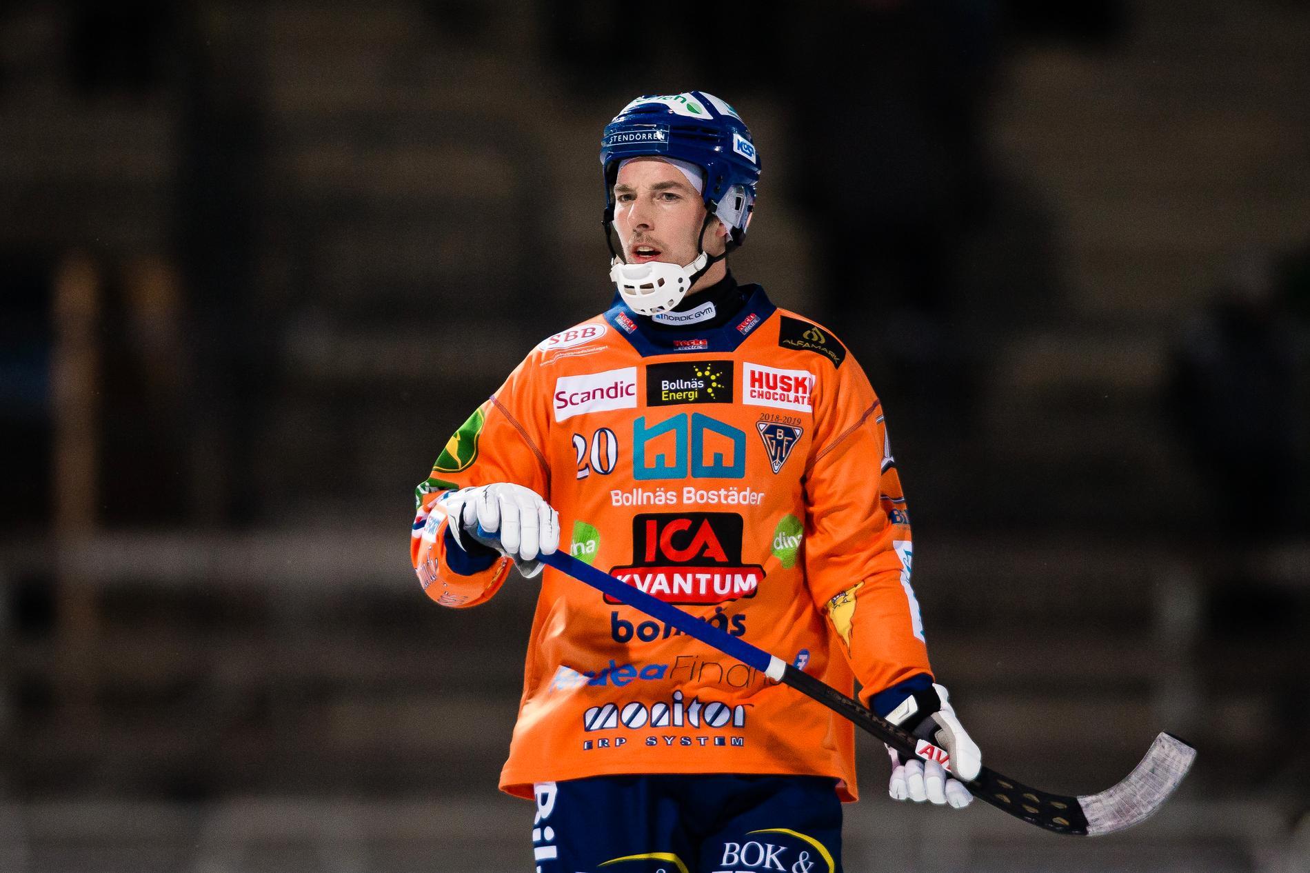 Christian Mickelsson i Bollnäs.