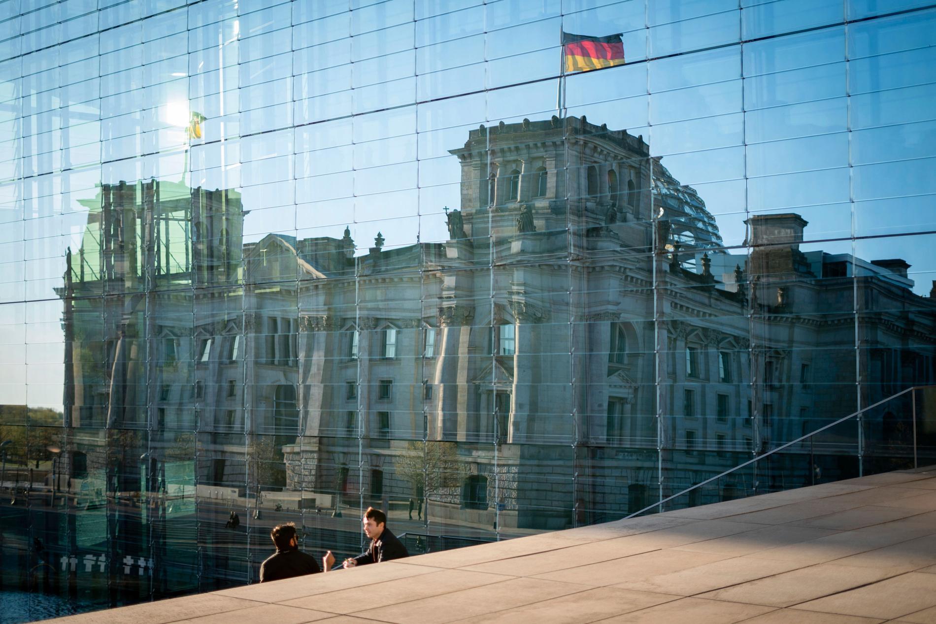 Förbundsdagen i Berlin. Arkivbild.