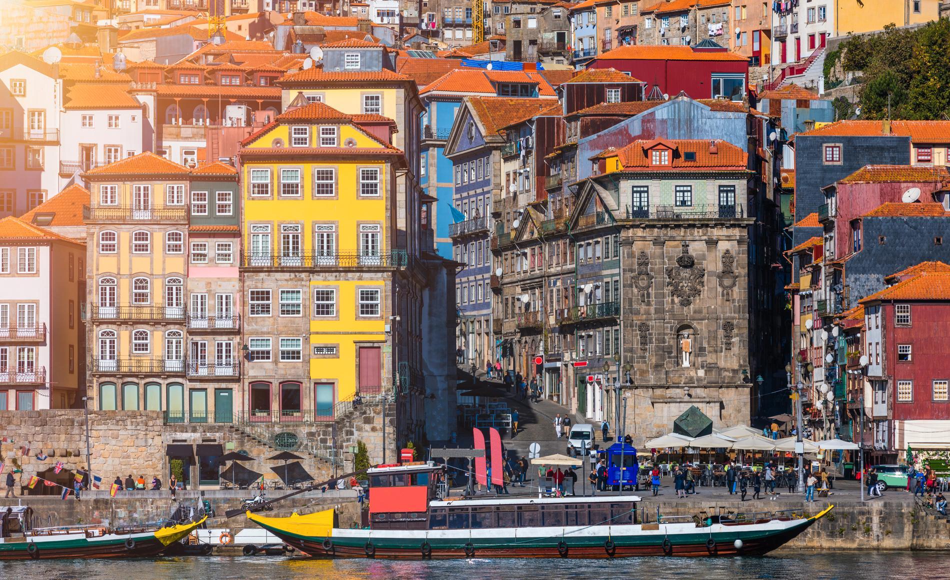Porto är Portvinets hemstad.