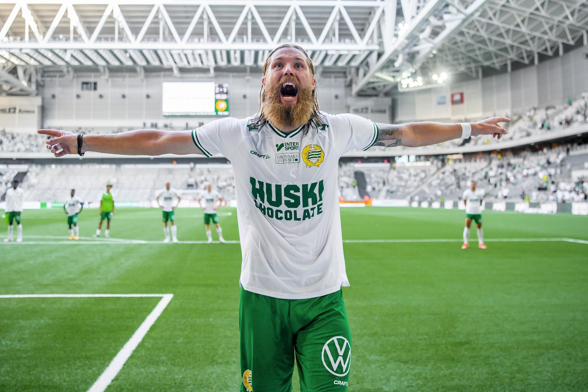 Hammarbys Bjørn Paulsen.