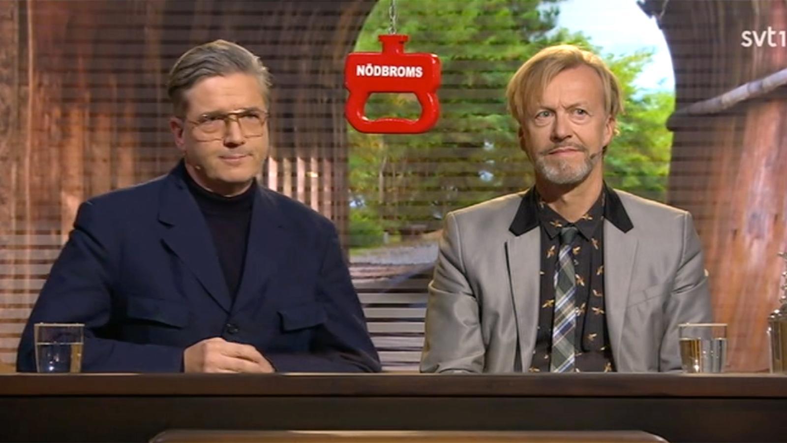 Tomas Alfredson och Ernst Billgren.