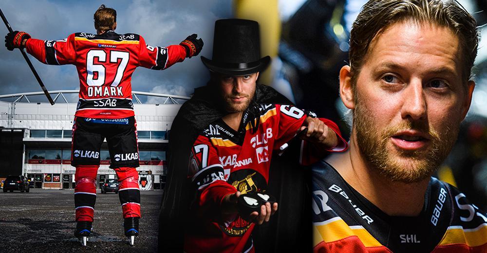 """Linus Omark: """"Luleå Hockey är min klubb"""""""