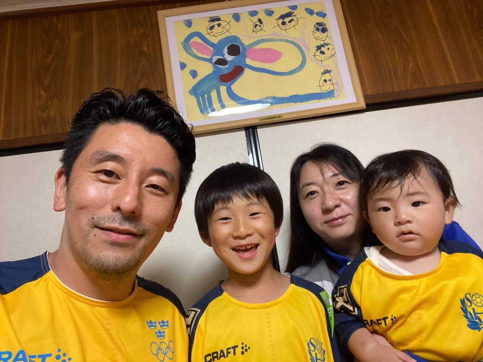 Familjen Murata i Sverige-mondering.