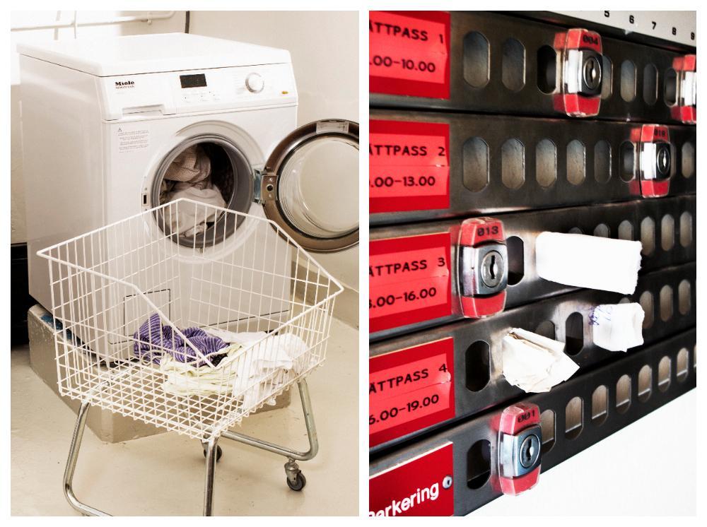 I den gemensamma tvättstugan vet man aldrig vad som tvättats