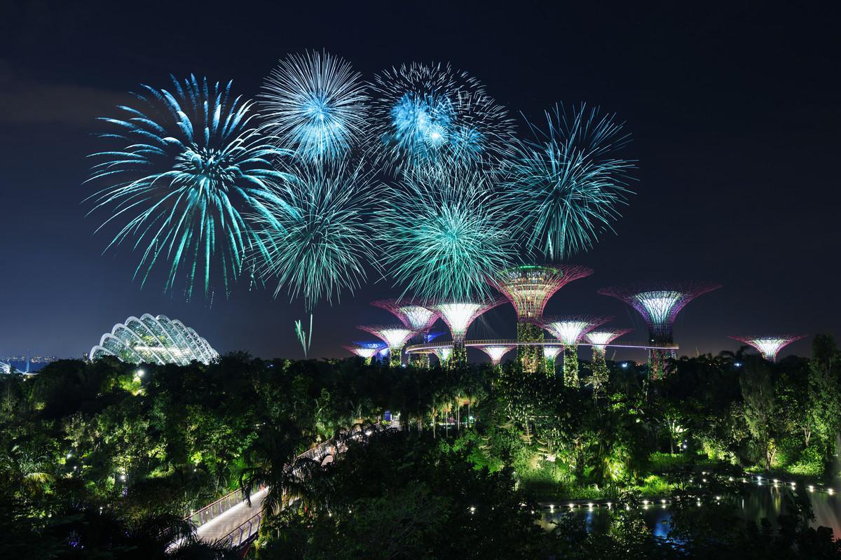 På Mr Stork i Singapore kan du koppla av i små tält i den tropiska miljön.