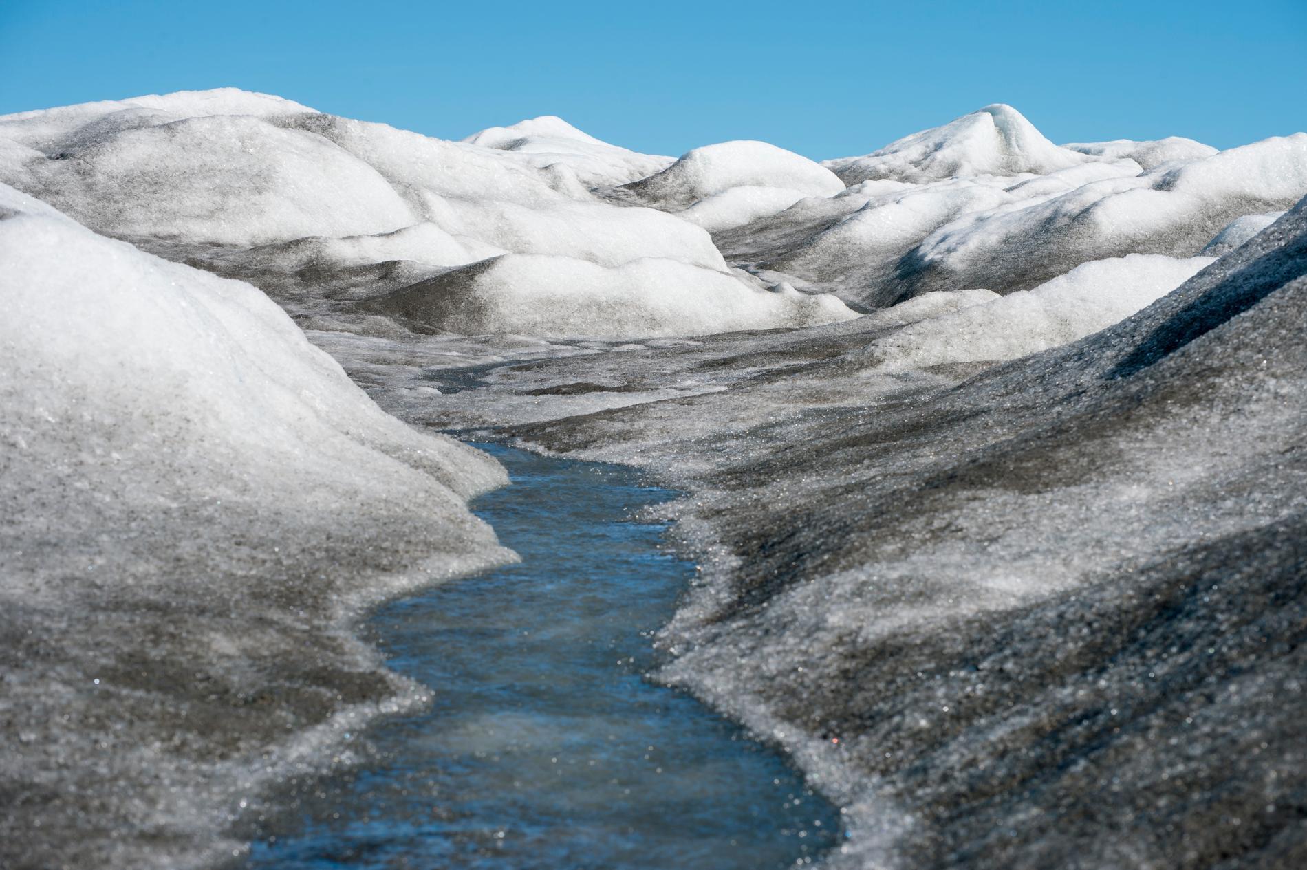 FN varnar för att isen på Grönland kan smälta till rekordlåga nivåer. Arkivbild.