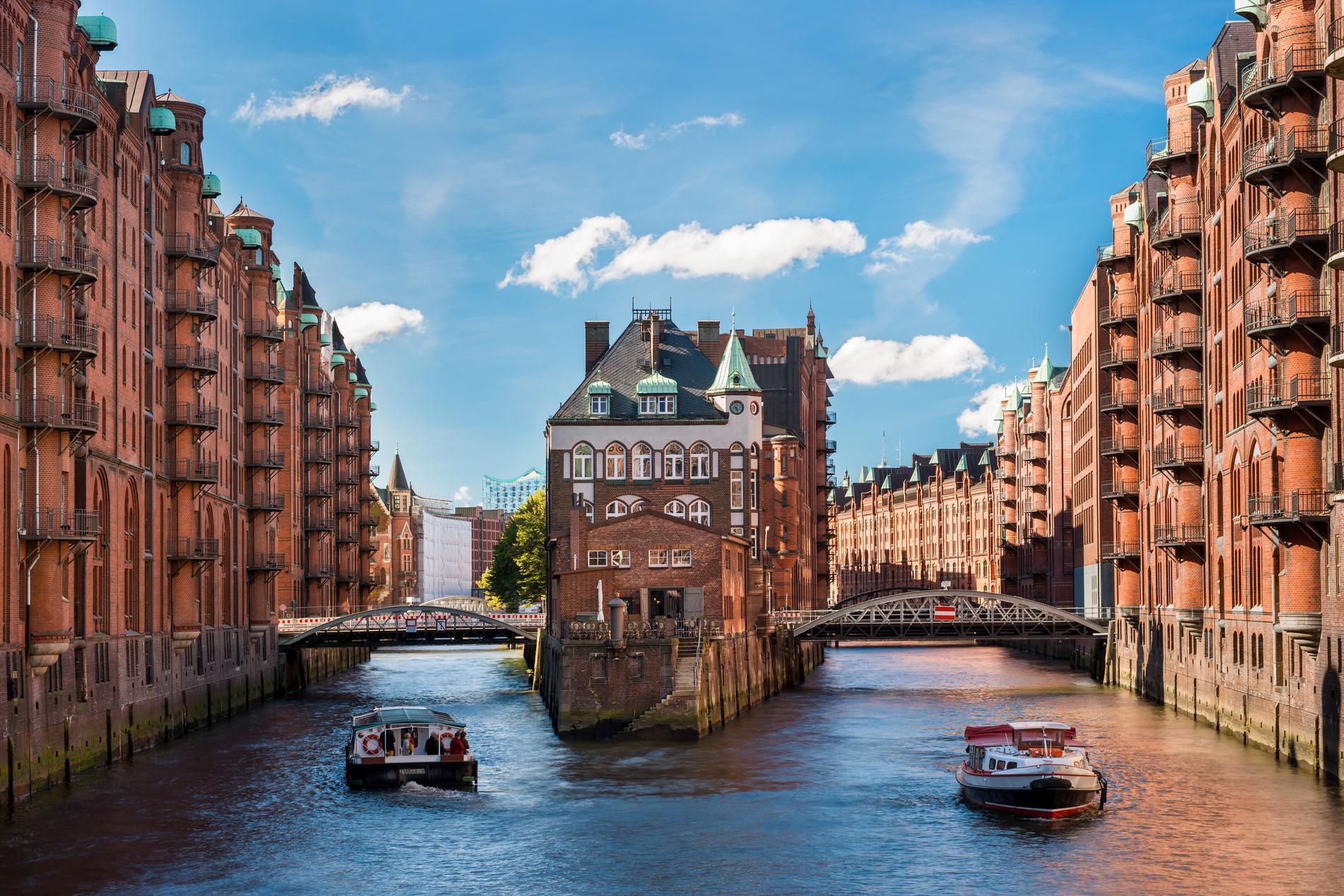 Hamburg har många Michelinbelönade restauranger.