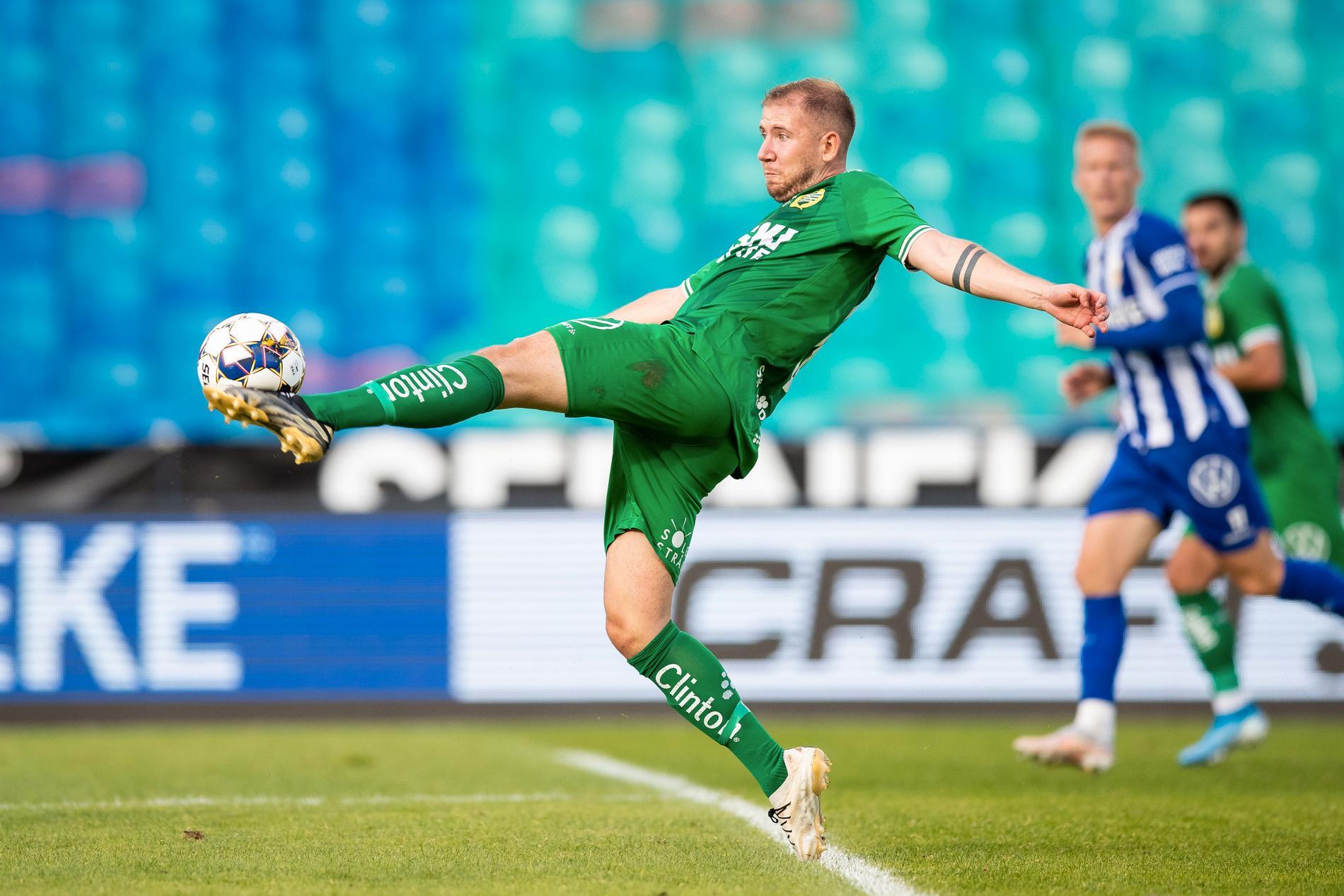 Darijan Bojanic i matchen mot IFK Göteborg.