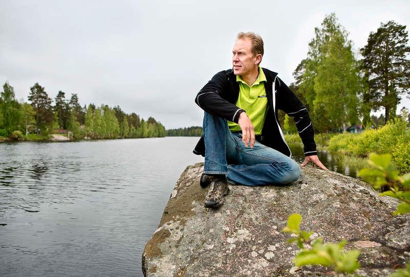 Tillbaka Det senaste året har varit tufft för Gunde Svan, men nu har han kraft att titta framåt.