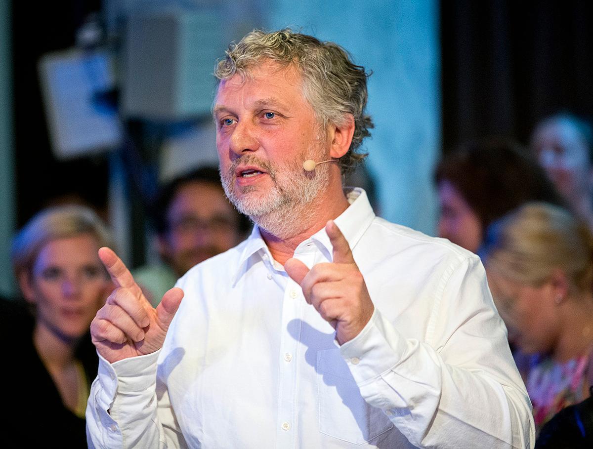 Miljörpartiets ex-språkrör Peter Eriksson.