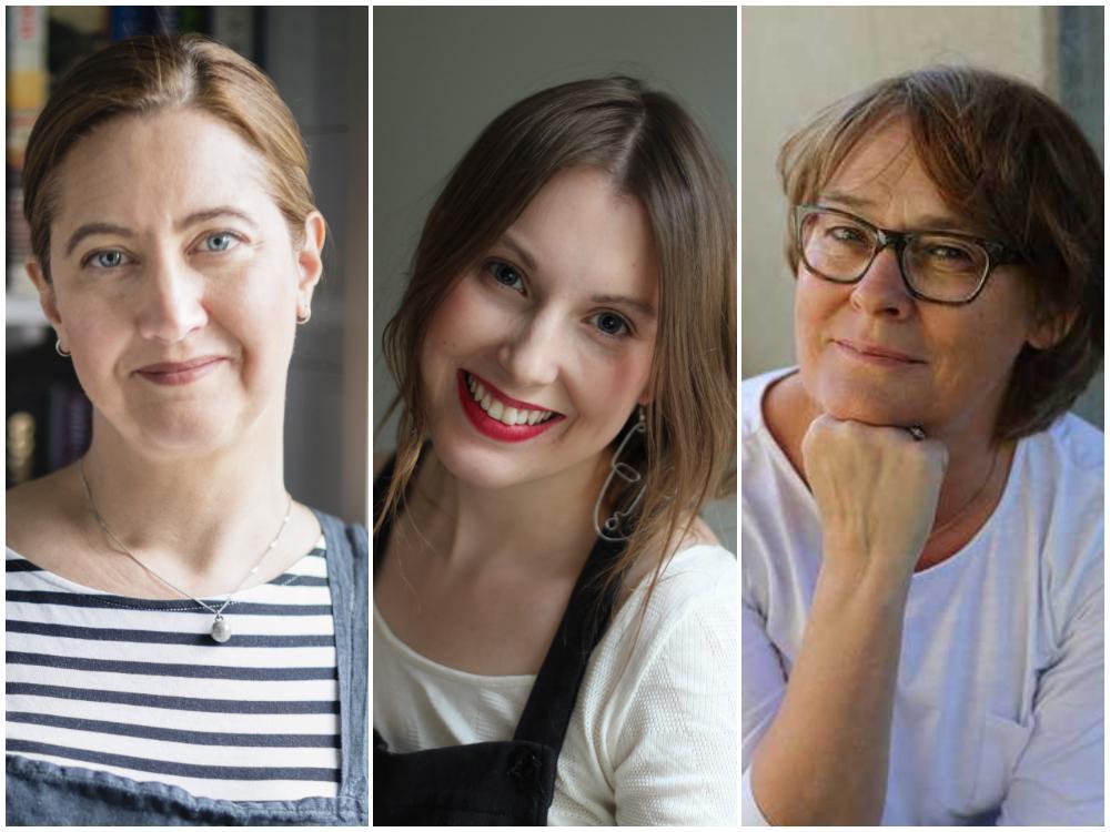 Malin Landqvist, Julia Tuvesson och Louise Ungerth.