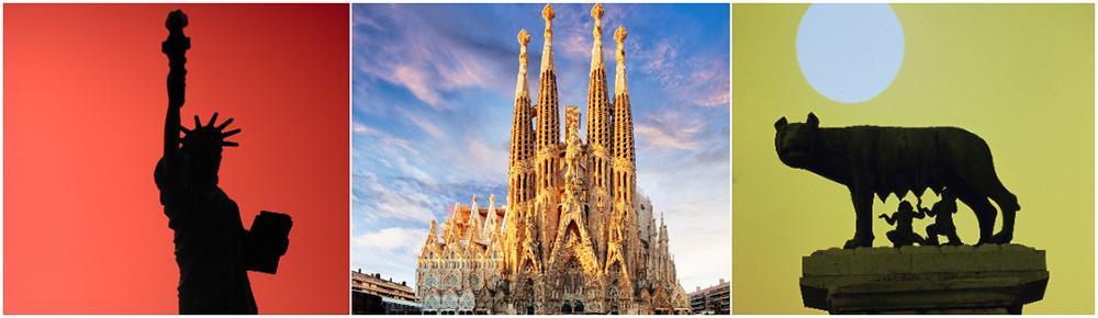 New York, Barcelona och Rom toppar storstadslistan.