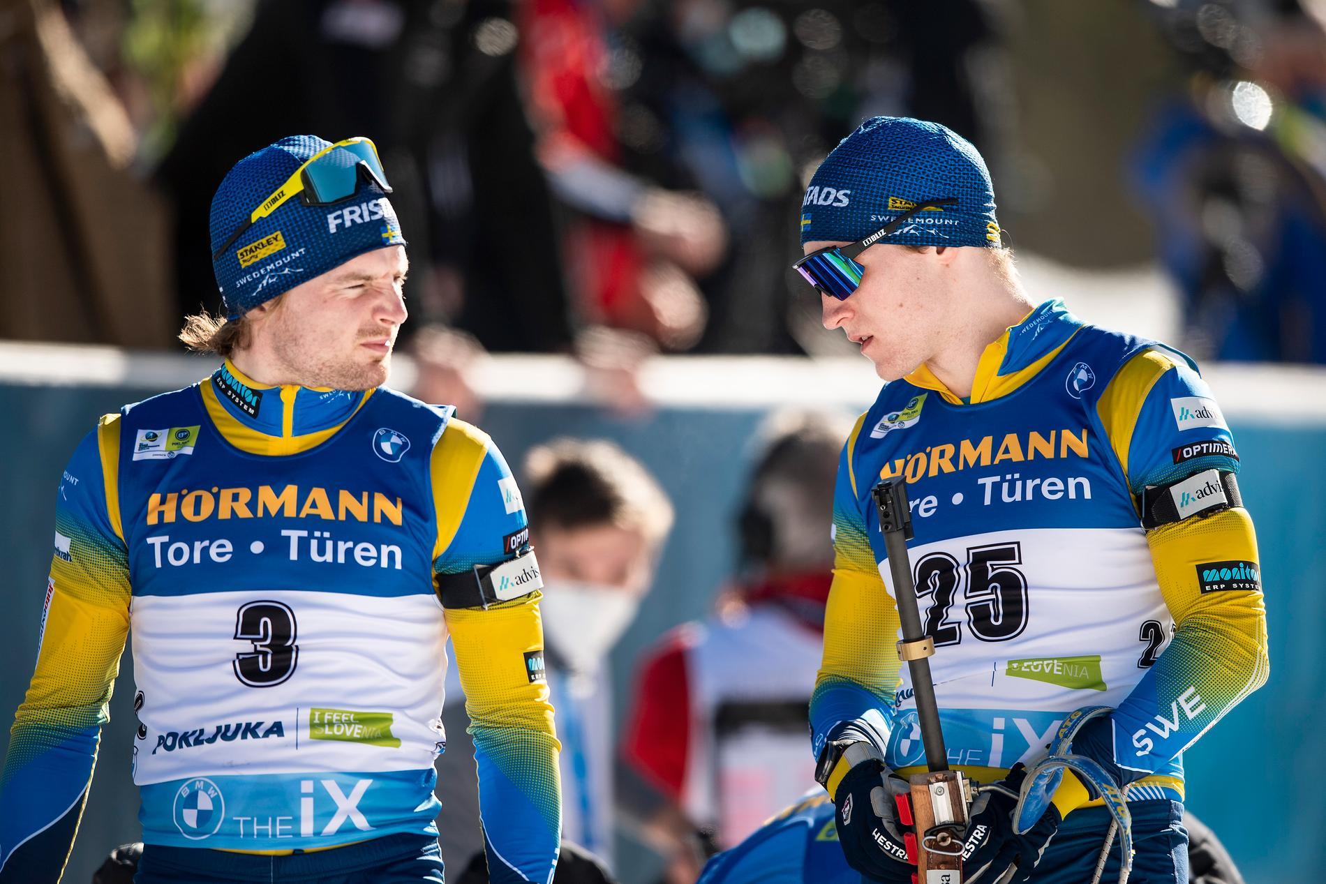 Jesper Nelin och Sebastian Samuelsson.
