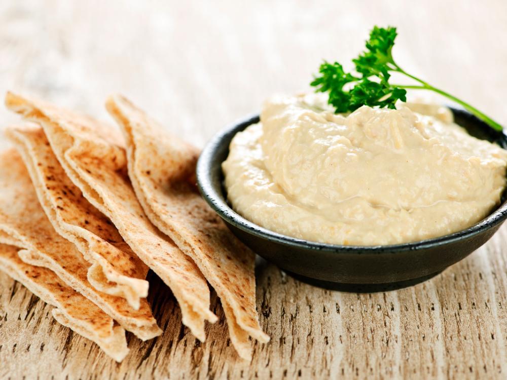 Hummus på svenska ärtor