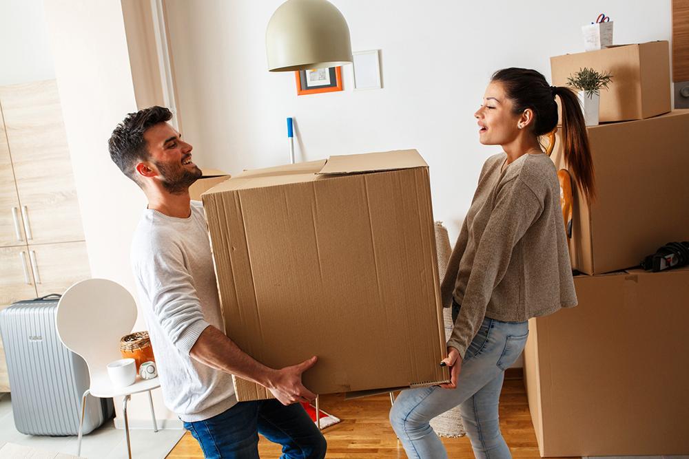 Packa kartongerna rätt. Har du förresten tillräckligt många?