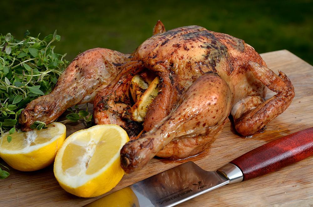 Grillad kyckling – smaksatt med pressad citron
