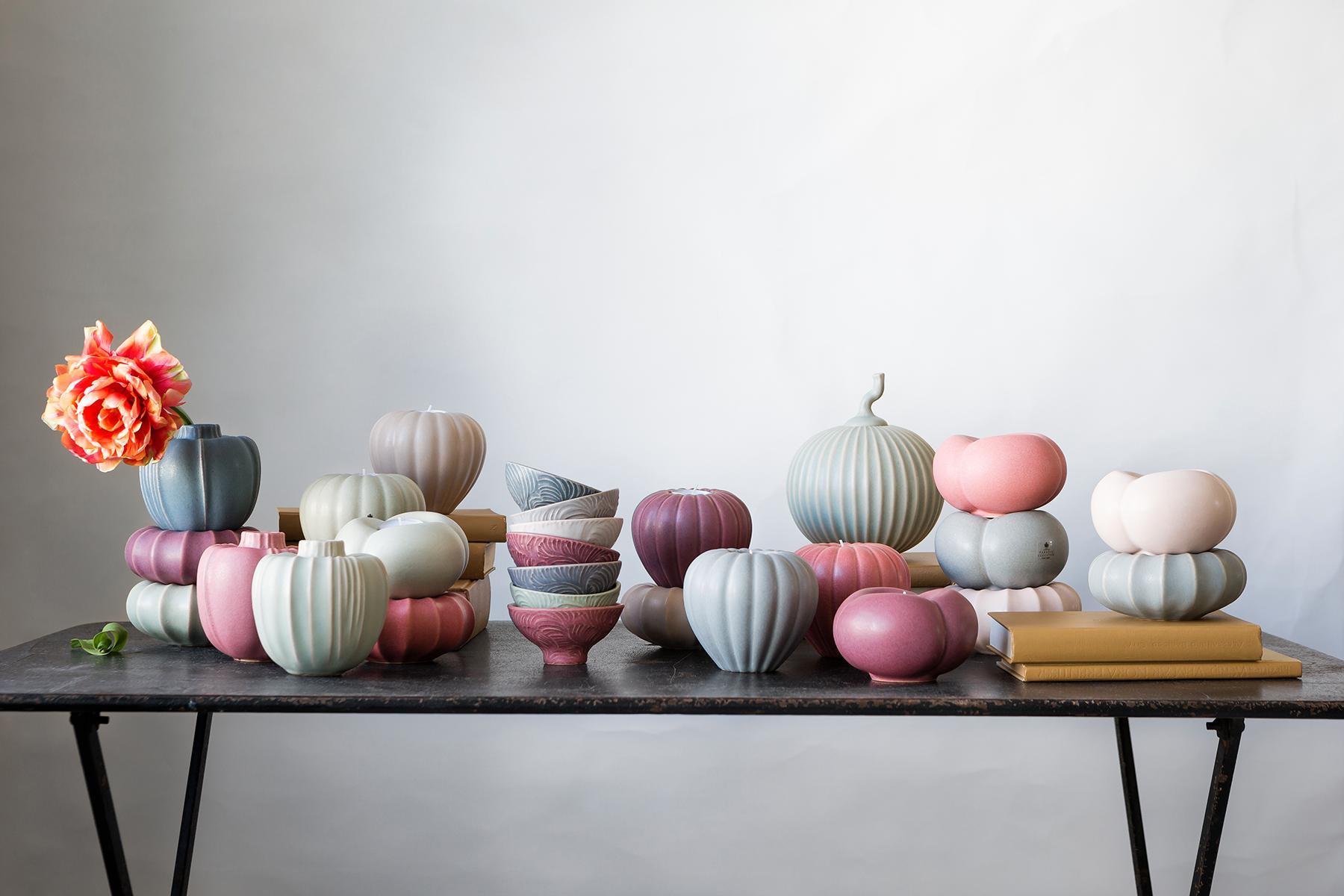 Keramik från Paradisverkstaden på Öland.