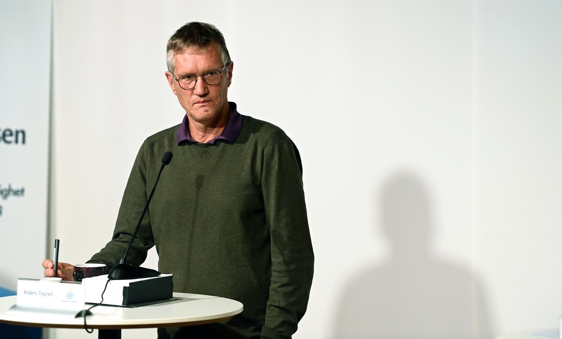 Anders Tegnell kritiseras av Andrew Ewing.
