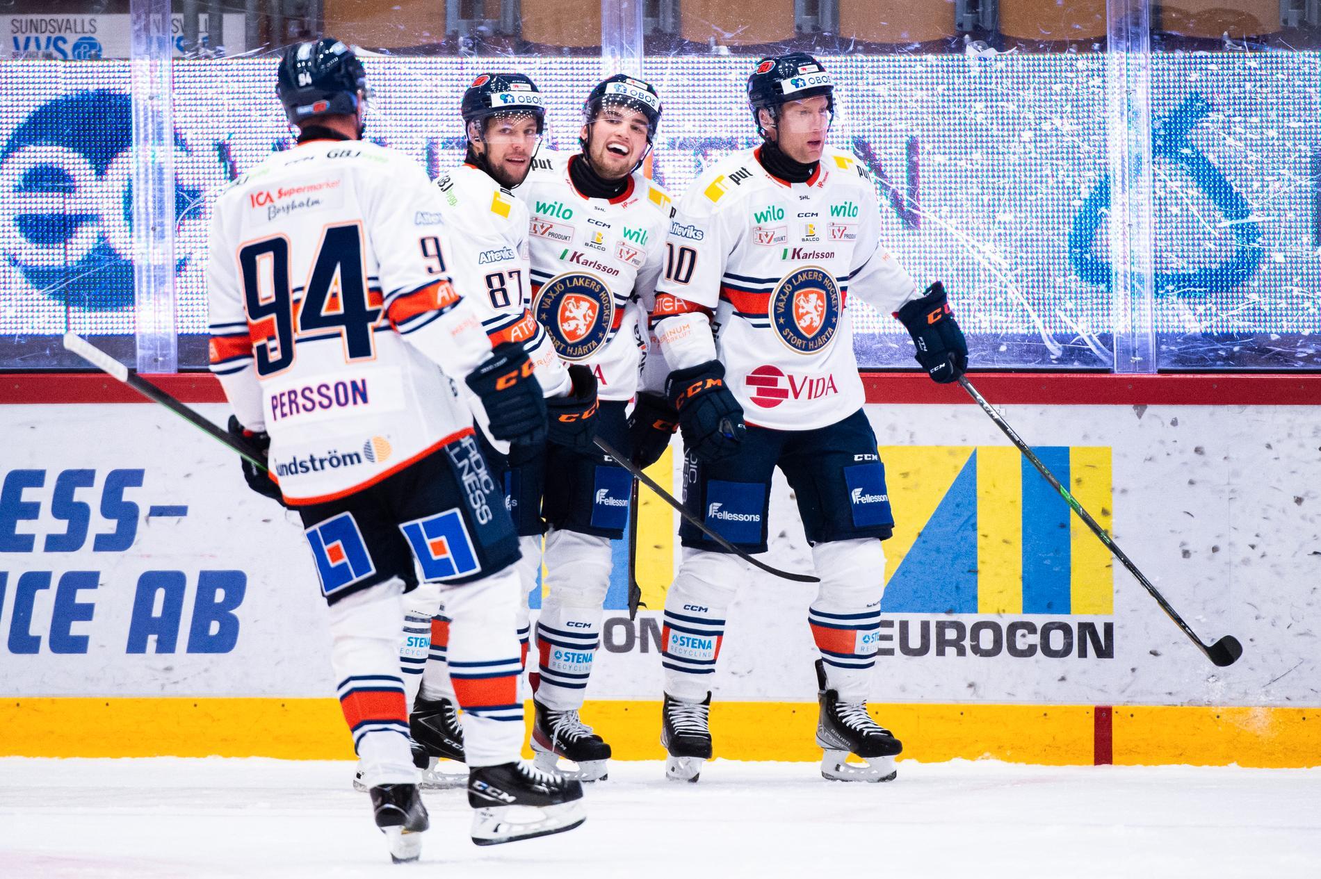 Växjö tog säsongens första seger.