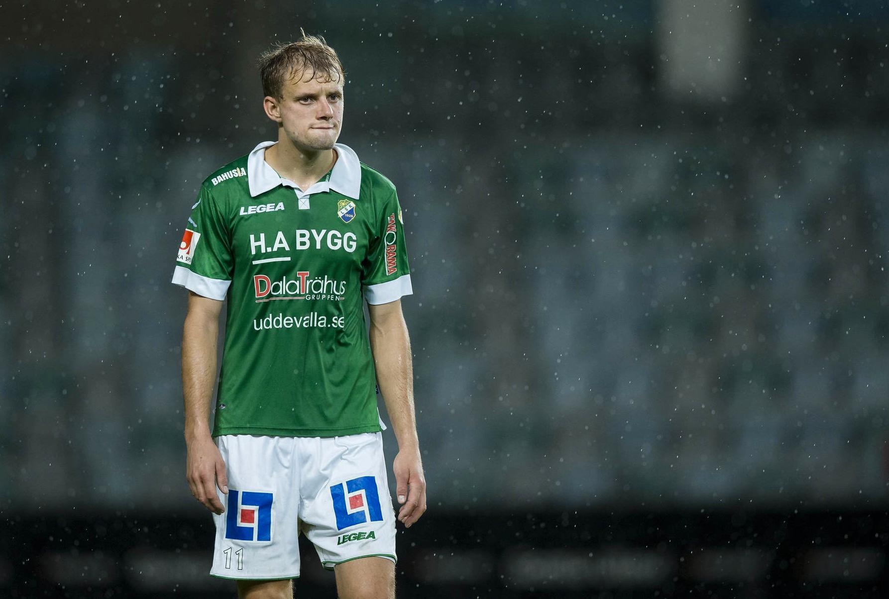 Ljungskiles Jakob Olsson deppar.