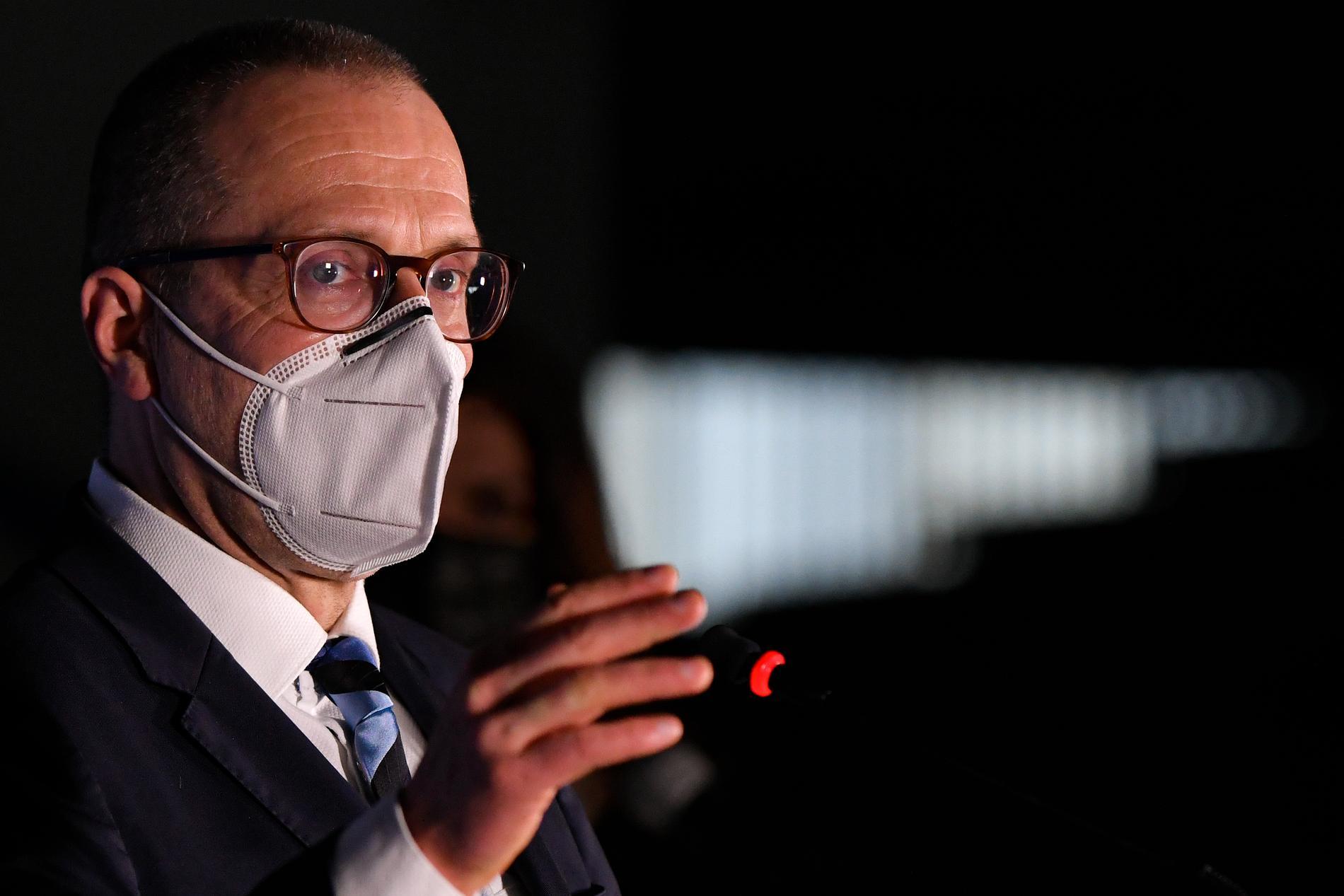 Hans Kluge, europachef för WHO.