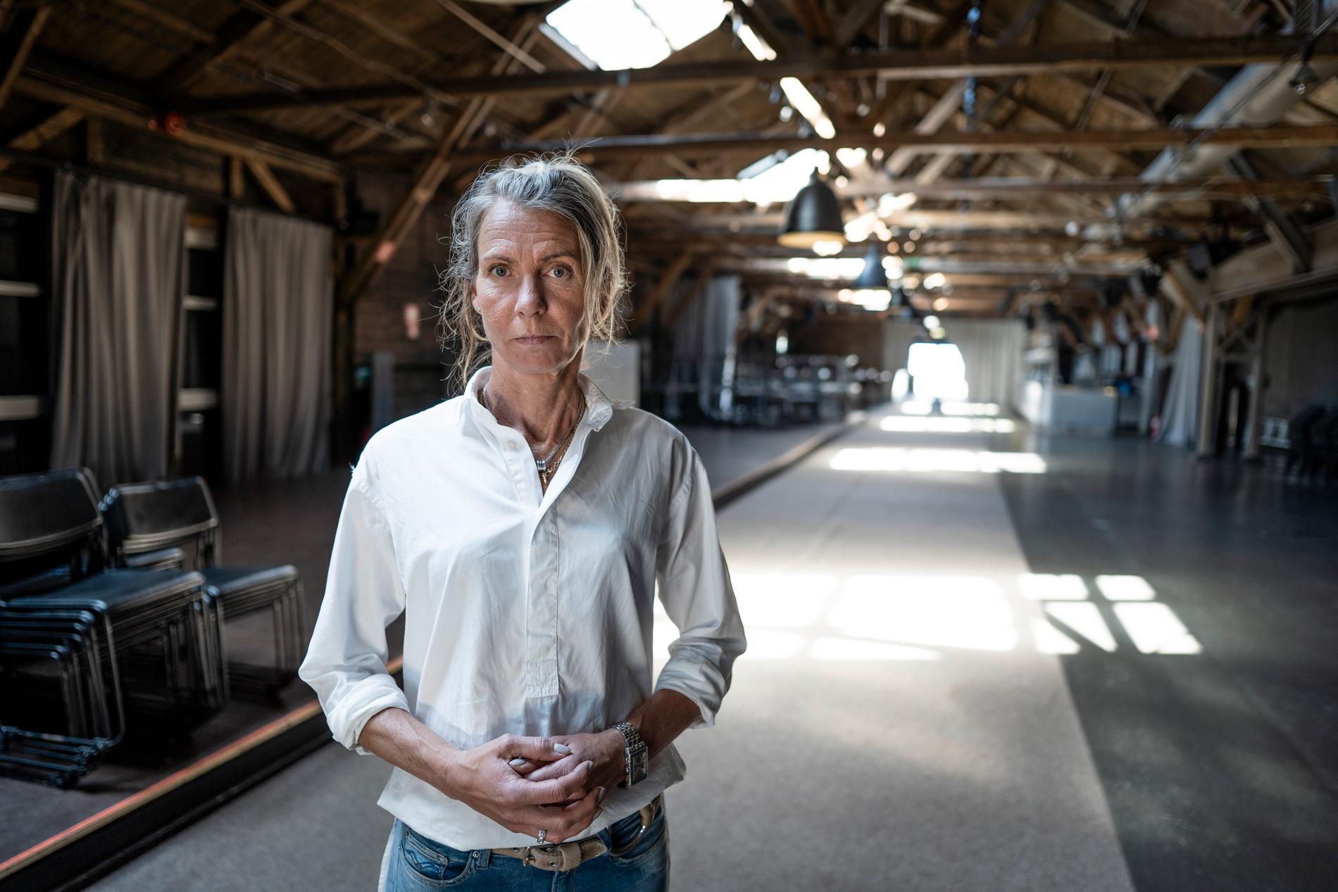 """""""Vi sitter fast i en rävsax"""", säger Ulrika Kvarnhult."""