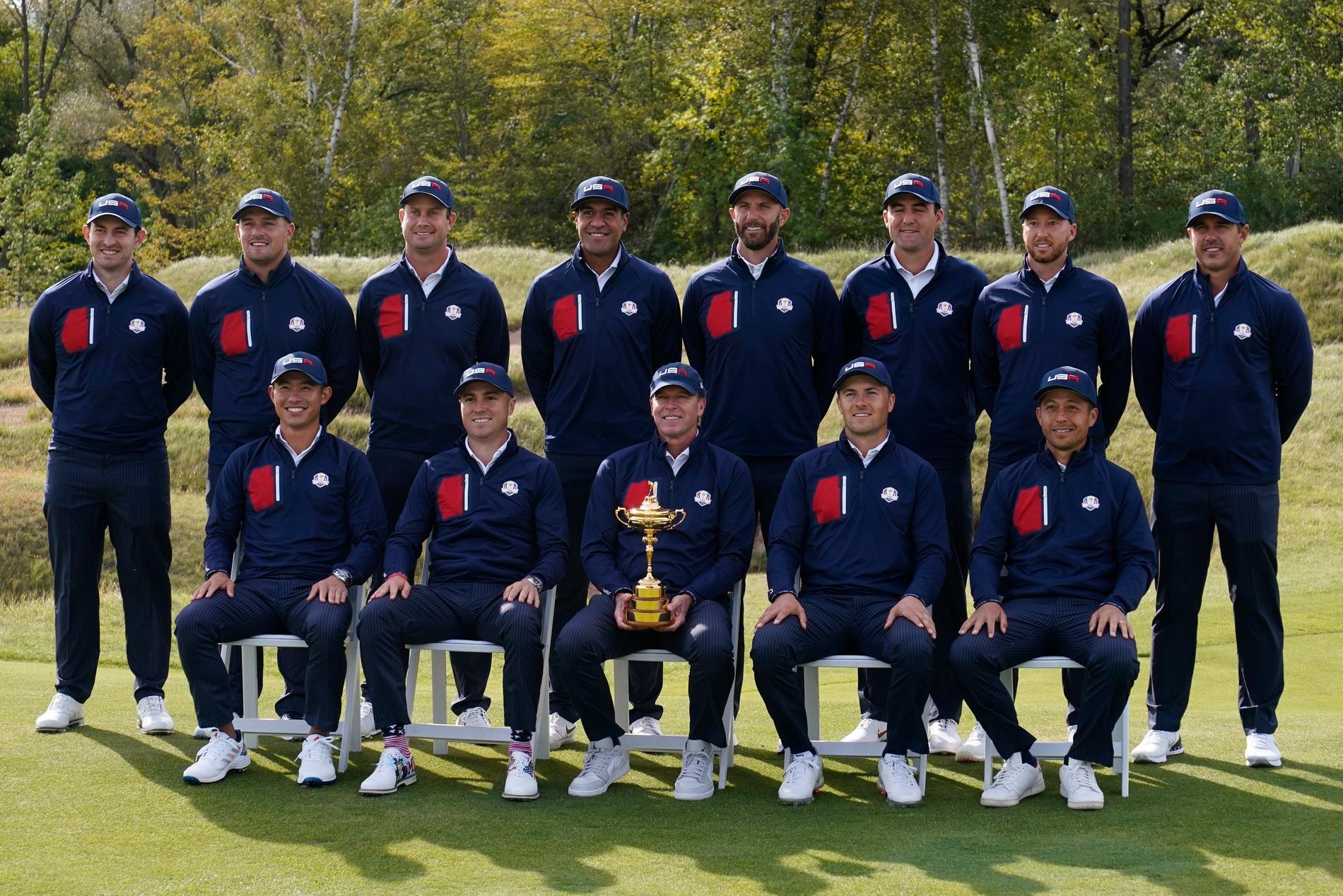 USA:s lag i Ryder cup 2021.